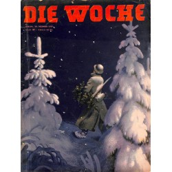 2654	 DIE WOCHE	-No.	51-1939		 WWII magazine - 	Christmas	, 28 pages,	,german illustrated magazine, many photos