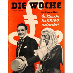 2659	 DIE WOCHE	-No.	16-1940		 WWII magazine - 	GB, London, WII	, 28 pages,	,german illustrated magazine, many photos