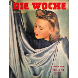 2661	 DIE WOCHE	-No.	18-1940		 WWII magazine - 	german silk	, 28 pages,	,german illustrated magazine, many photos