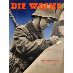 2662 DIE WOCHE-No.22-1940 WWII magazine - germantanks, WWII, 36 pages,,german illustrated magazine, many photos