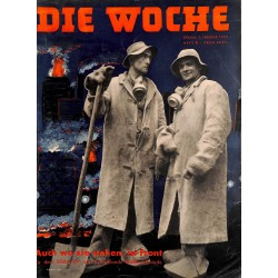 2665	 DIE WOCHE	-No.	6-1940		 WWII magazine - 	WWII	, 28 pages,	,german illustrated magazine, many photos
