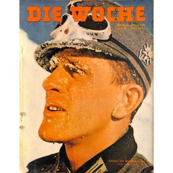2667	 DIE WOCHE	-No.	8-1940		 WWII magazine - 	WWII	, 28 pages,	,german illustrated magazine, many photos