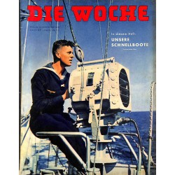 2669	 DIE WOCHE	-No.	3-1939		 WWII magazine - 	WWII Schnellboote, 	, 26 pages,	,german illustrated magazine, many photos