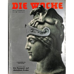 2679 DIE WOCHE-No.48-1939 WWII magazine - WWII Slovakei, 28 pages,,german illustrated magazine, many photos