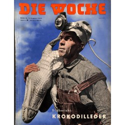 2683	 DIE WOCHE	-No.	31-1939		 WWII magazine - 	sports, tanks	, 28 pages,	,german illustrated magazine, many photos