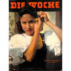 2686	 DIE WOCHE	-No.	32-1939		 WWII magazine - 		, 42 pages,	,german illustrated magazine, many photos