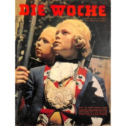 2687 DIE WOCHE-No.29-1939 WWII magazine - sports, 42 pages,,german illustrated magazine, many photos