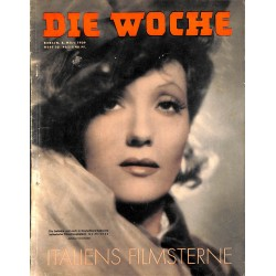 2694	 DIE WOCHE	-No.	10-1939		 WWII magazine - 	Isa Miranda italian actress	, 42 pages,	,german illustrated magazine
