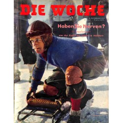2695 DIE WOCHE-No.8-1939 WWII magazine - car exhibition, 42 pages,,german illustrated magazine, many photos