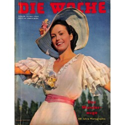 2696	 DIE WOCHE	-No.	19-1939		 WWII magazine - 	100 years photographie	, 48 pages,	,german illustrated magazine, many photos