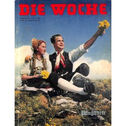 2697	 DIE WOCHE	-No.	21-1939		 WWII magazine - 	Romania, national day	, 48 pages,	,german illustrated magazine, many photos