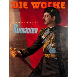 2699 DIE WOCHE-No.25-1939 WWII magazine - Special isssue Romania, 72 pages,,german illustrated magazine, many photos