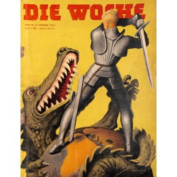 2702	 DIE WOCHE	-No.	52-1939		 WWII magazine - 		, 24 pages,	,german illustrated magazine, many photos
