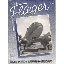 2740	 DER FLIEGER	-No.	1-1942	-	WWII german aviation magazine 	 content:	(No. on cover shows 1-1941, but it is in fact 1-1942