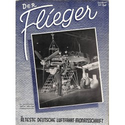 2741	 DER FLIEGER	-No.	3-1942	-	WWII german aviation magazine 	 content:	Bücker Bestmann Italy Sabiha Gökcen