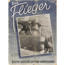 2748	 DER FLIEGER	-No.	12-1942	-	WWII german aviation magazine 	 content:	Messerschmitt Taifun Messerschmitt airplanes modells