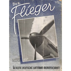 2749	 DER FLIEGER	-No.	2-1943	-	WWII german aviation magazine 	 content:	Dornier Do 217 Argus engines Messerschmitt Me 109