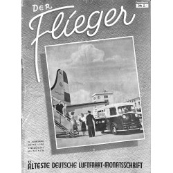 2758	 DER FLIEGER	-No.	7/8-1950	-	WWII german aviation magazine 	 content:	airplanes, technic, advertisments