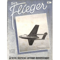 2759	 DER FLIEGER	-No.	9-1950	-	WWII german aviation magazine 	 content:	airplanes, technic, advertisments