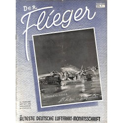 2760	 DER FLIEGER	-No.	10/11-1950	-	WWII german aviation magazine 	 content:	airplanes, technic, advertisments