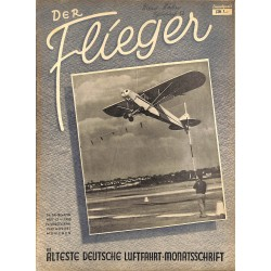 2761	 DER FLIEGER	-No.	12-1950	-	WWII german aviation magazine 	 content:	airplanes, technic, advertisments