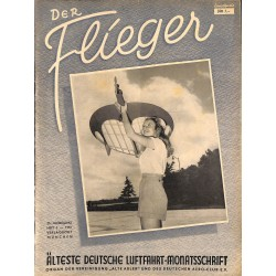 2763	 DER FLIEGER	-No.	3-1951	-	WWII german aviation magazine 	 content:	airplanes, technic, advertisments
