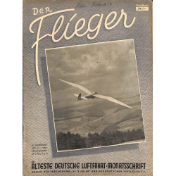 2765	 DER FLIEGER	-No.	5-1951	-	WWII german aviation magazine 	 content:	airplanes, technic, advertisments