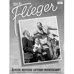2768	 DER FLIEGER	-No.	8-1951	-	WWII german aviation magazine 	 content:	airplanes, technic, advertisments