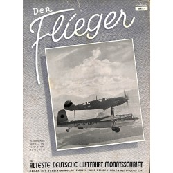 2772	 DER FLIEGER	-No.	12-1951	-	WWII german aviation magazine 	 content:	the cover shows No. 3-1951, but it is No. 12-1951, !!!