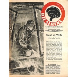2847 DIE SIRENE No. 6-1944- Reichsluftschutzbund - RLB - Luftschutz magazine civil protection, firefighting, air raids