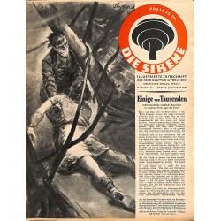2852 DIE SIRENE No. 12-1943- Reichsluftschutzbund - RLB - Luftschutz magazine civil protection, firefighting, air raids
