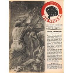 2853 DIE SIRENE No. 12-1944- Reichsluftschutzbund - RLB - Luftschutz magazine civil protection, firefighting, air raids