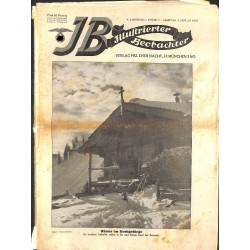 3101 ILLUSTRIERTER BEOBACHTER 	Jews No. 	1-1931	-	January 31