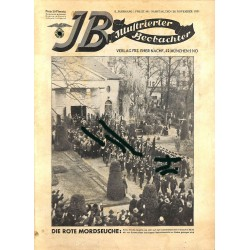 3197	 ILLUSTRIERTER BEOBACHTER 	 Jews No. 	48-1931	-	November 28