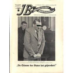 3504 ILLUSTRIERTER BEOBACHTER  No. 4-1935-January 26