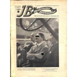 3561 ILLUSTRIERTER BEOBACHTER  No. 8-1935-February 21