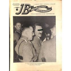 3701 ILLUSTRIERTER BEOBACHTER  No. 1-1937-January 7