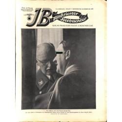 3707 ILLUSTRIERTER BEOBACHTER  No. 7-1937-February 18