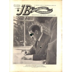 3715 ILLUSTRIERTER BEOBACHTER  No. 15-1937-April 15