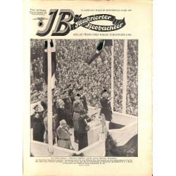 3719 ILLUSTRIERTER BEOBACHTER  Zeppelin Hindenburg No. 19-1937-May 13