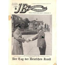 3729 ILLUSTRIERTER BEOBACHTER  No. 29-1937-July 22