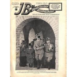 3757 ILLUSTRIERTER BEOBACHTER  INCOMPLETE No. 48-1937-December 2