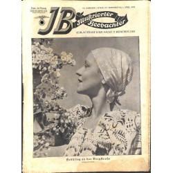 3765 ILLUSTRIERTER BEOBACHTER  No. 13-1937-April 1