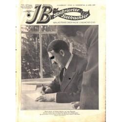 3767 ILLUSTRIERTER BEOBACHTER  No. 15-1937-April 15