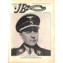3773 ILLUSTRIERTER BEOBACHTER  Zeppelin Hindenburg No. 21-1937-May 27