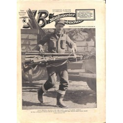 4020	 ILLUSTRIERTER BEOBACHTER 	 Jews WWII No. 	20-1940	-	May 16	 vintage illustrated magazine	, content:	Jews, Norway Wehrmacht