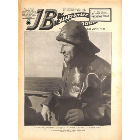 4124	 ILLUSTRIERTER BEOBACHTER 	 Jews WWII No. 	24-1941	-	June 12