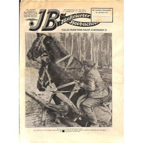 4221	 ILLUSTRIERTER BEOBACHTER 	 WWII No. 	21-1942	-	May 21