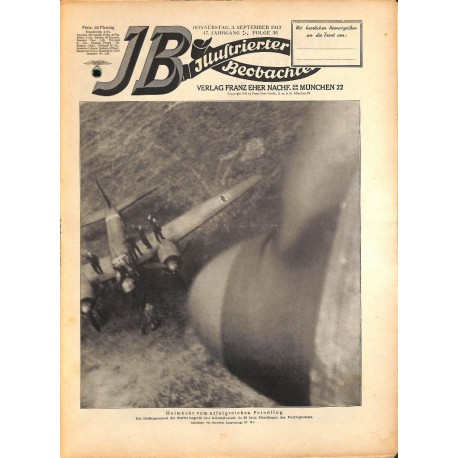 4236 ILLUSTRIERTER BEOBACHTER  WWII No. 36-1942-September 3