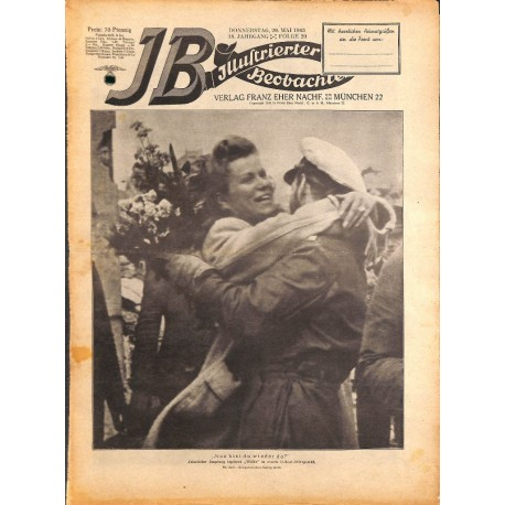 4320 ILLUSTRIERTER BEOBACHTER  SS WWII No. 20-1943-May 20